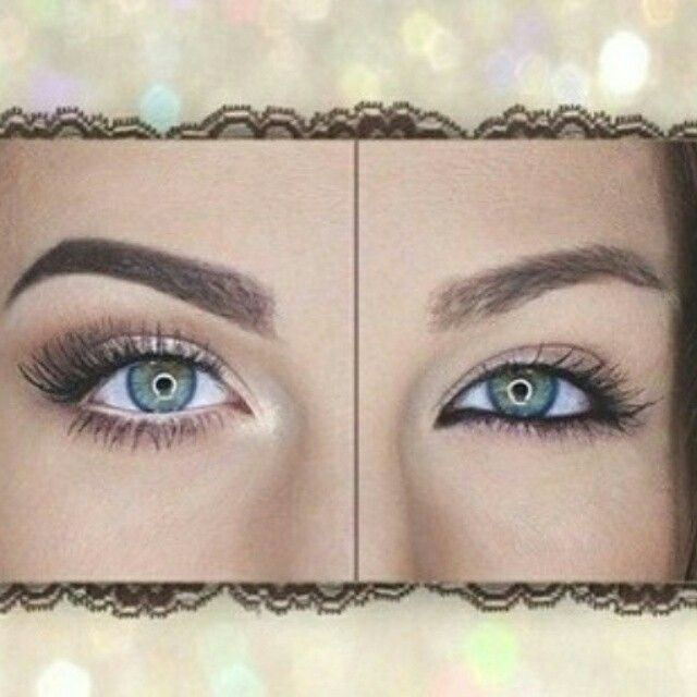 Younique white eyeliner on the waterline brightens your eyes! Click here to  order: www