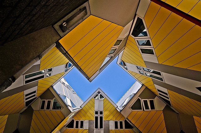 Cube Houses, Rotterdam (the Netherlands)