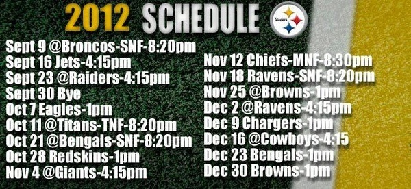 Pittsburgh Steelers 2012