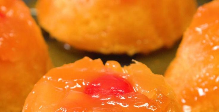 Get The Recipe: Mini Pineapple Upside Down Cakes | Cooking Panda