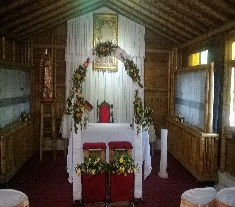 Hacienda para bodas en Bogotá  Capilla
