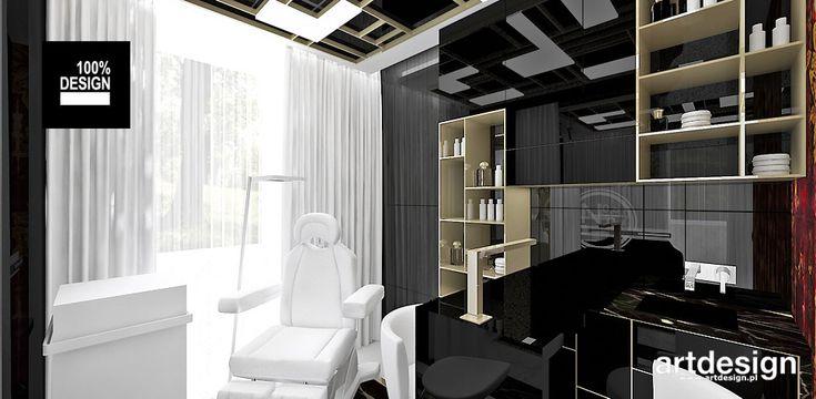 No1 | Studio Urody | Projekt wnętrz salonu kosmetycznego