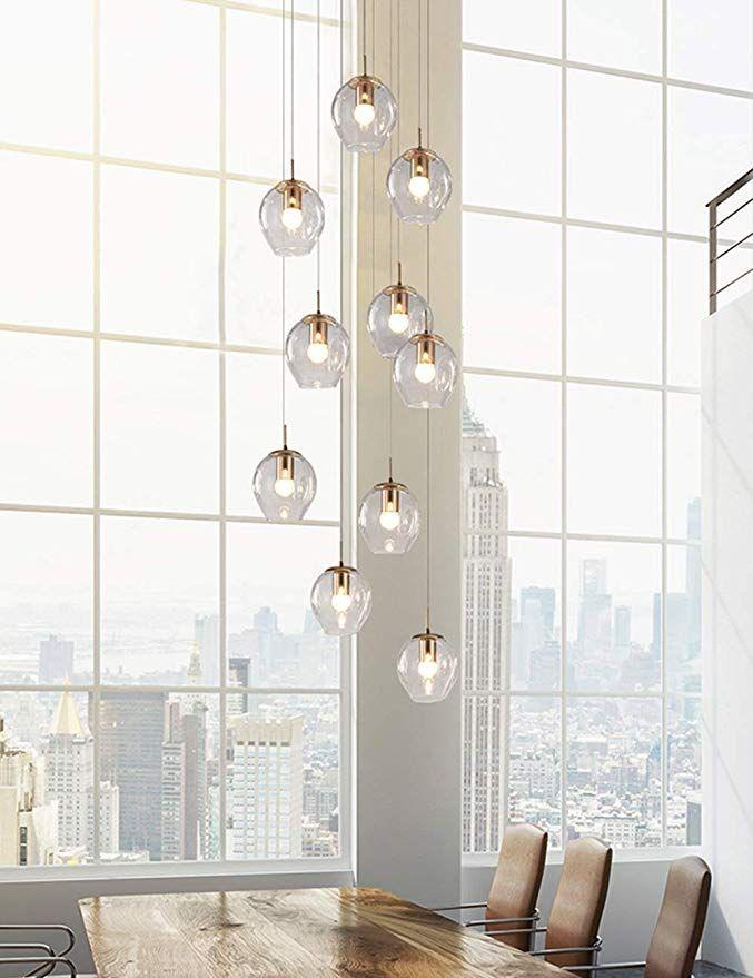 moderne lampen treppenhaus