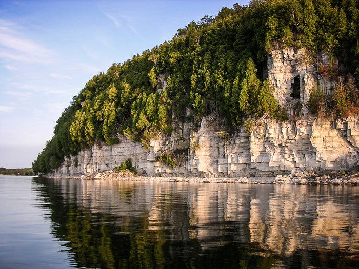 Reflections at Ellison Bluff by Terry Ann Morris on Capture Door County // The bluffs & 474 best PLACES: Door County images on Pinterest | Door county ...