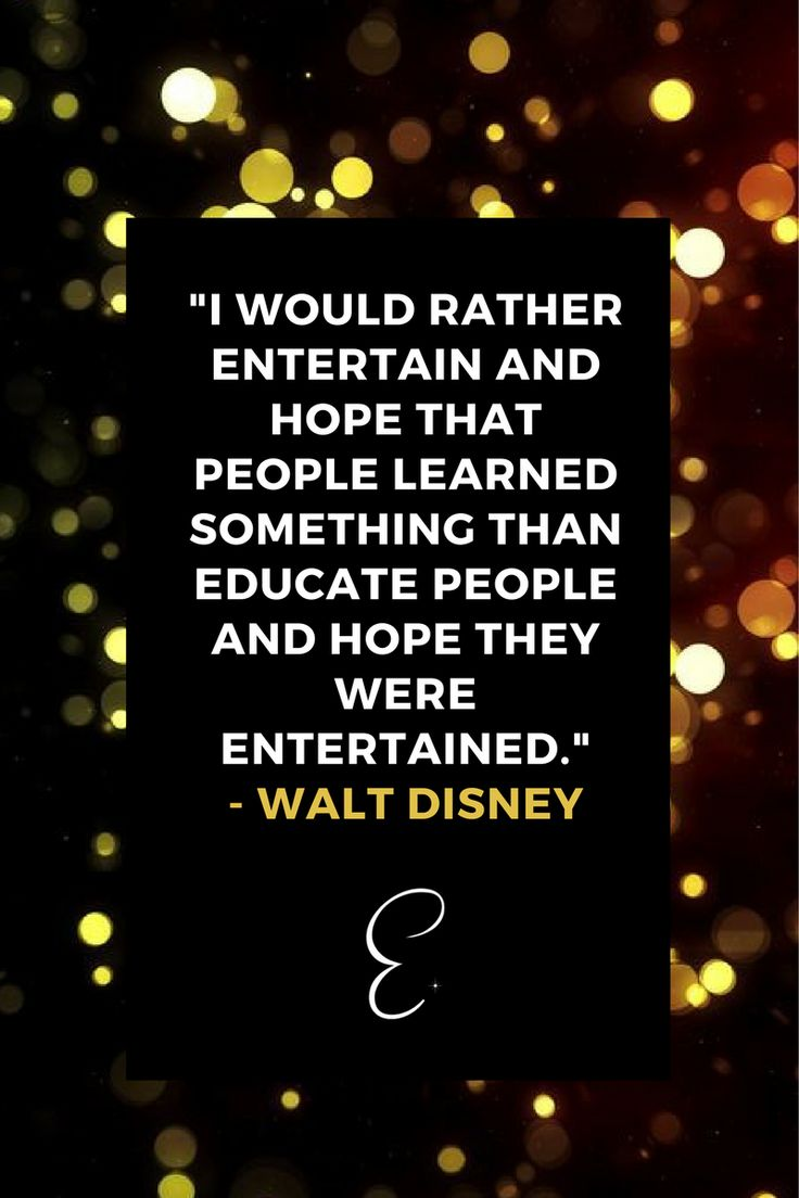 I would rather entertain…