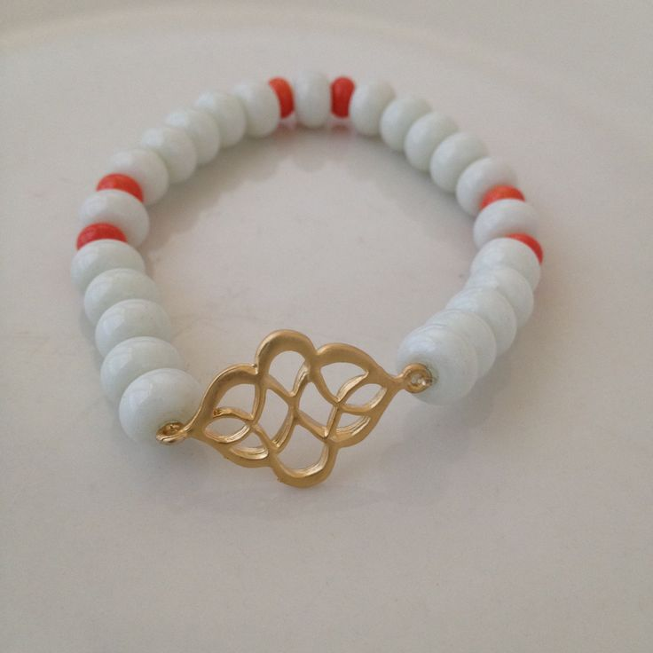 Elegant Twist Charm Bracelet  Part of the Charity Collection - Inspiration  15% go to 1Love Foundation