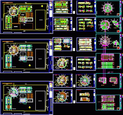 Plan d'une école primaire en dwg | Génie civil et Travaux Publics Engineering