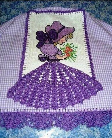 Materiales gráficos Gaby: Muñeca tejida