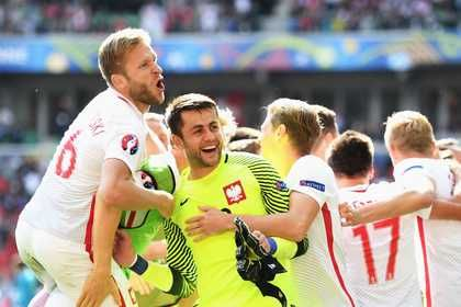 Backup goalkeeper Łukasz Fabiański was Poland's surprising hero against Switzerland