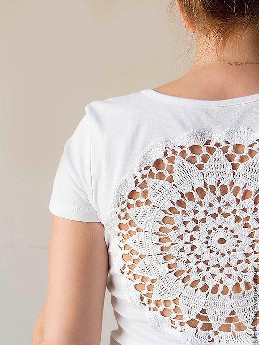 Crochetemoda: Regatas com Detalhes em Crochet