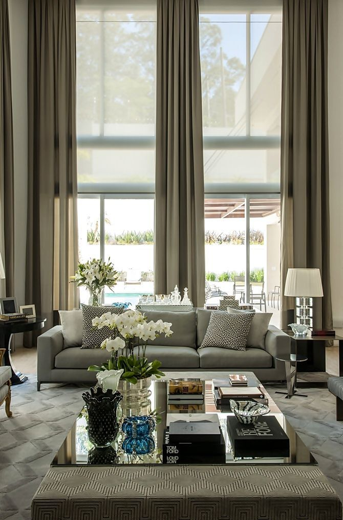 Christina Hamoui Especial. Elegant CurtainsLuxury CurtainsNeutral CurtainsLuxury  Living RoomsStylish ...