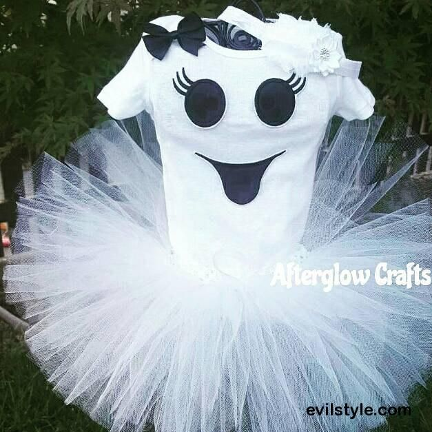 Halloween Ghost Costume Baby Ghosts Costume Ghost Tutu costume Ghost Outfit Baby Halloween costume Baby Halloween outfit - http://evilstyle.com/halloween-ghost-costume-baby-ghosts-costume-ghost-tutu-costume-ghost-outfit-baby-halloween-costume-baby-halloween-outfit