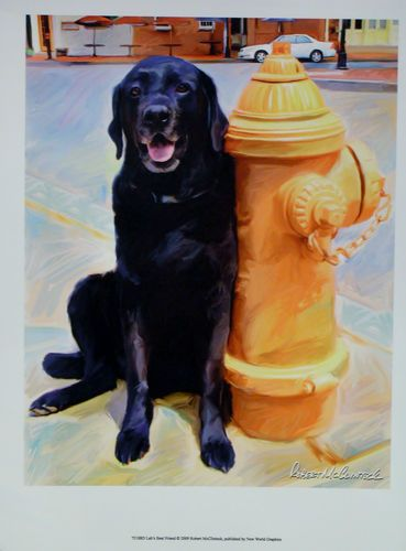 $19.99  DOG Pets ART Print LAB'S Best Friend BY Robert Mcclintock   eBay #dog #pets #walldecor