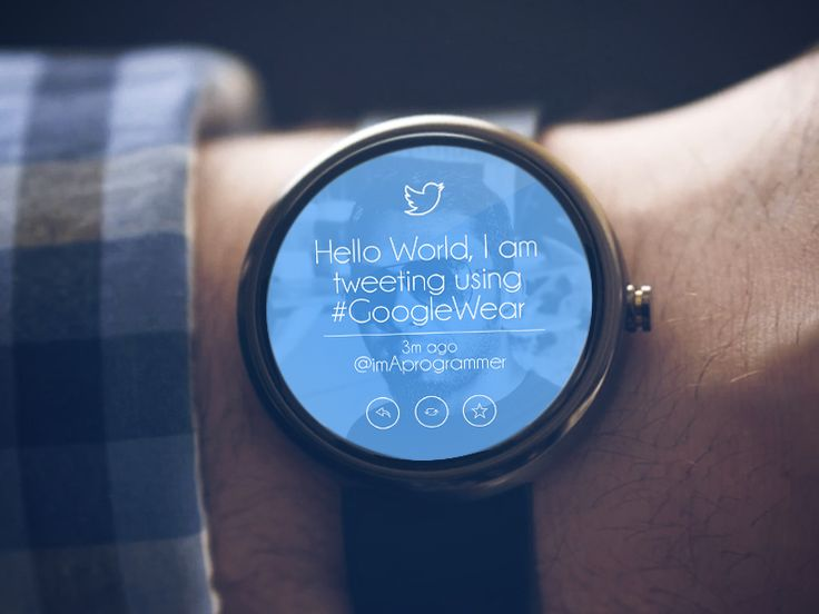 Android Wear - Twitter