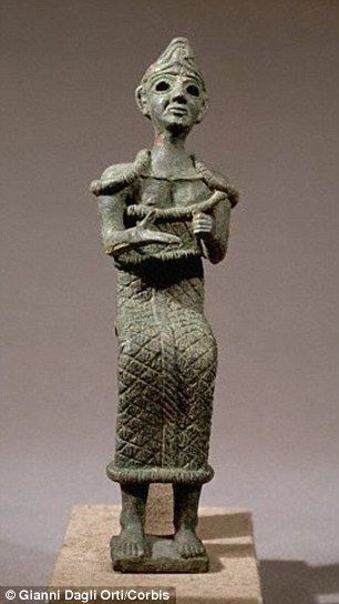 Astarte was worshiped from the Bronze Age through classical antiquity and was connected with fertility, sexuality and war