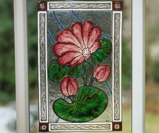 Imitatii de vitralii Tiffany - Nufar