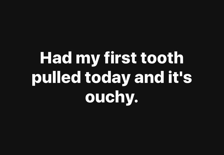 #Ouch #Tooth
