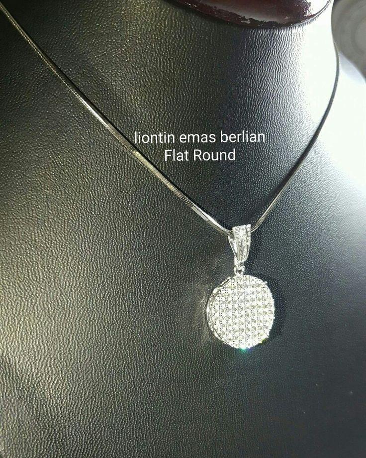 New Arrival🗼. Liontin Emas Berlian Flat Round💎💍.   🏪Toko Perhiasan Emas Berlian-Ammad 📲+6282113309088/5C50359F Cp.Antrika👩.  https://m.facebook.com/home.php #investasi#diomond#gold#beauty#fashion#elegant#musthave#tokoperhiasanemasberlian