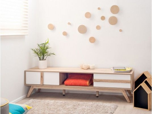 Jesse Low Sideboard with Shadow Boxes