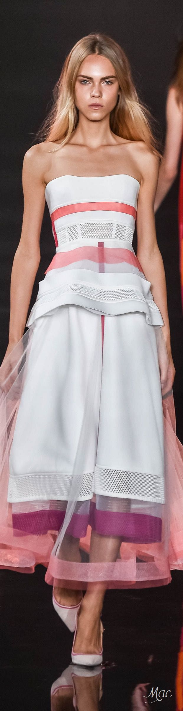 "Spring 2016 Ready-to-Wear Valentin Yudashkin ""And the LORD said to Moses, ""Go to the people and consecrate them today and tomorrow. Have them wash their clothes."" Exodus 19:10"