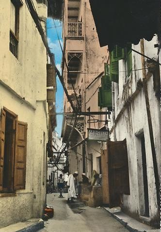 Mombasa Old Town 1960s