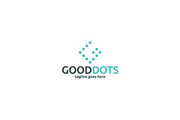 Good Dots Logo Template by Shaoleen on @creativemarket