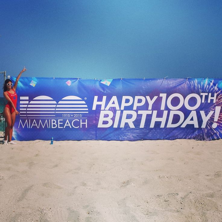 This week, the City of Miami Beach hosted 100 hours of events celebrating their centennial during the beach's biggest-ever birthday party!  With many of the activities taking place on the sand, MB Suncare lifeguards were there to make sure that all guests and visitors were protected from the sun.  From spraying [...]