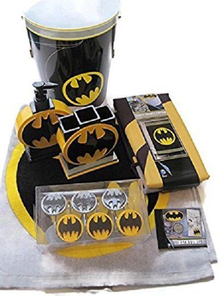 5 most affordable batman bathroom set with high quality batman rh pinterest com Batman Bathroom Wear Marvel Bathroom Set