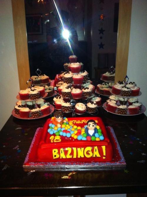 The Big Bang Theory- Cake