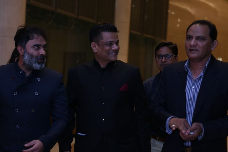 Times of India Sports Awards (TOISA) 2017, the former Indian Cricket Captain and Politician, Mohammad Azharuddin announcing the launch of True Sports channel with the CEO Zahir Rana