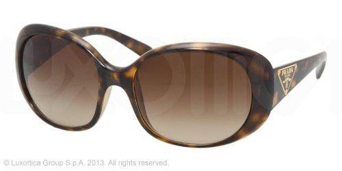 Prada 27LS 2AU6S1 Havana 27LS Round Sunglasses Lens Category 3 | $382,471.71
