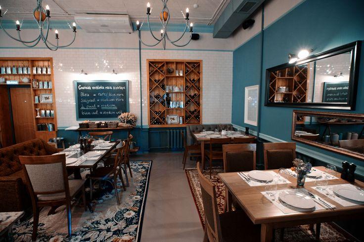 """французское кафе """"Жан-Поль"""": второй этаж"""