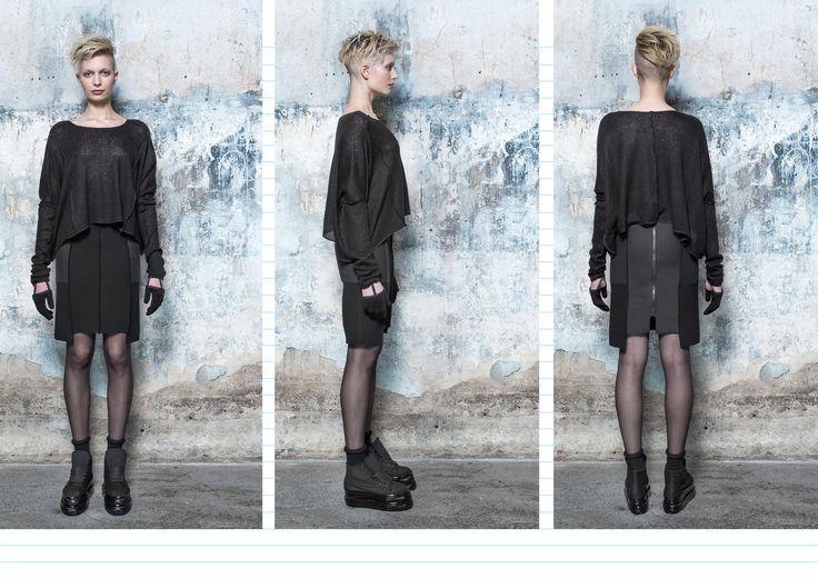 BEATE GODAGER// BLACK-COPY COLLECTION 2013 #beategodager #womanswear #blackcopycollection #scandinavian #lookbook