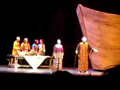 "A clip from Assumption College's production of ""Children of Eden"" at The Hanover Theatre."