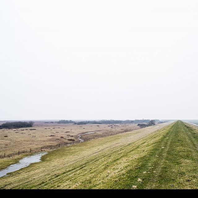 This is Holland - Goeree Overflakkee to be precize. Beautiful lines of the dike that keeps the water out when necessary.  #thisisholland #backstagephoto #dikes #landschape #landscapephotography #exploremore #outdoor_mentality #hikelove #gooutside #exploremore #naturelover #beautyofnature #goooutside #outdoors #thegreatoutdoors #activetravel #wandeleninnederland #wandelen #closetohome #outdoorblogger #outdoorphotography @by_manja