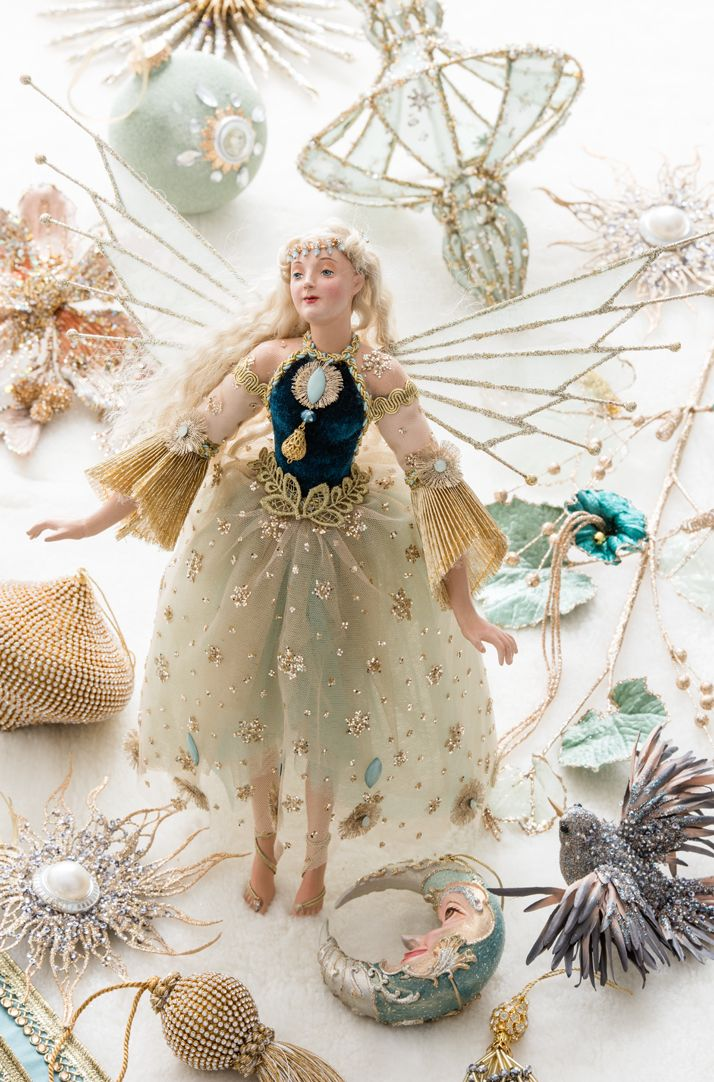 Katherine's collection Celestial fairy   Christmas: Objects, Ornaments,  Little Houses, Dolls and so many gorgeous things   Pinterest   Christmas  fairy, ... - Katherine's Collection Celestial Fairy Christmas: Objects