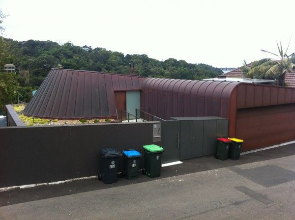 Copper cladding Curraghbeena Road ARC roofing