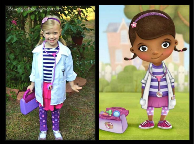 How to make a Doc McStuffins Costume: Life Songs Of A Busy Mom: Doc McStuffins Dress Up