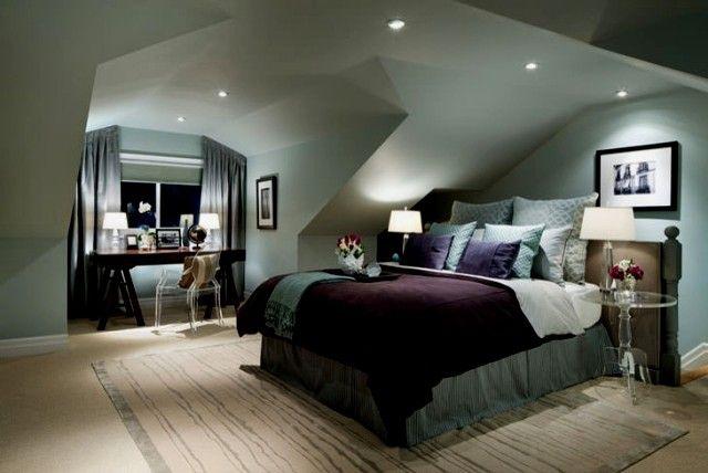 Hervorragend Wandfarbe Schlafzimmer Dachschräge Ideen