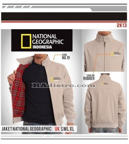 jual jaket national geographic online murah (NG 19) Indonesia
