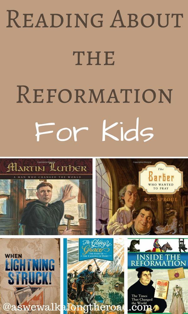 Five great kids books about the Protestant Reformation