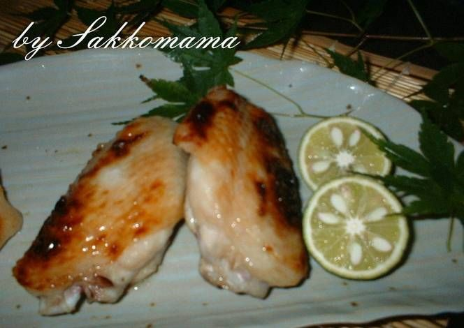 Shio-koji Chicken Wings Recipe -  Very Delicious. You must try this recipe!