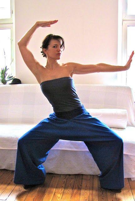 Брюки и шорты для йоги - лёгкие выкройки