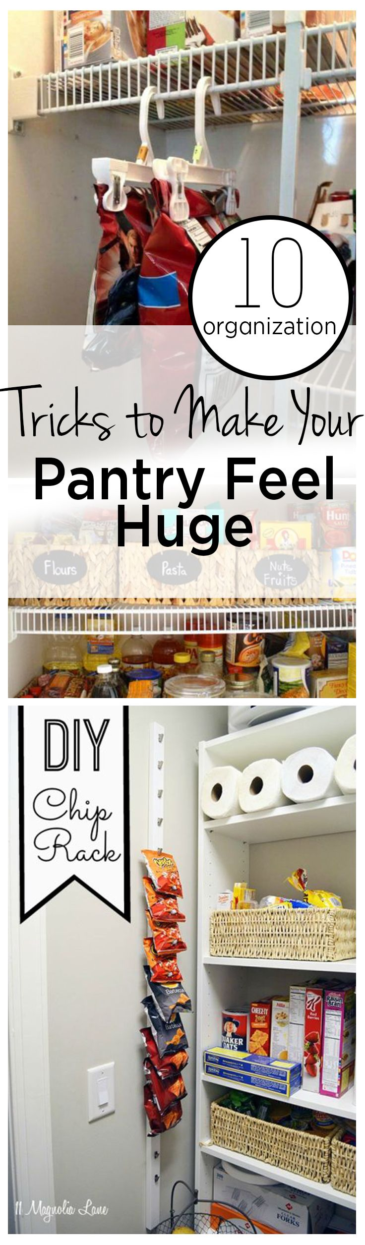 Pantry Organziation, Pantry Organization Tips, Manage Pantry Clutter, How to Tame Pantry Clutter, Organization, Kitchen Organization, Popular Pin