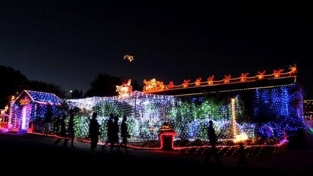 Best Canberra Christmas lights 2014