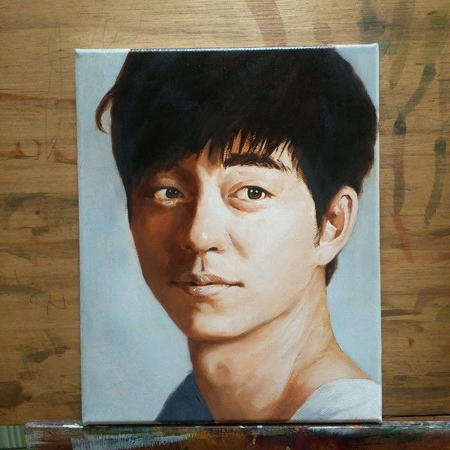 Oil on canvas 2015  #portrait #drawing #dessin #sketch#illustration #instaart #baby#art#painting #셀피 #셀스타그램 #드로잉 #스케치 #쇼콜라캔버스 #일러스트#oilpainting #그림#인물화#초상화#팝아트#popart