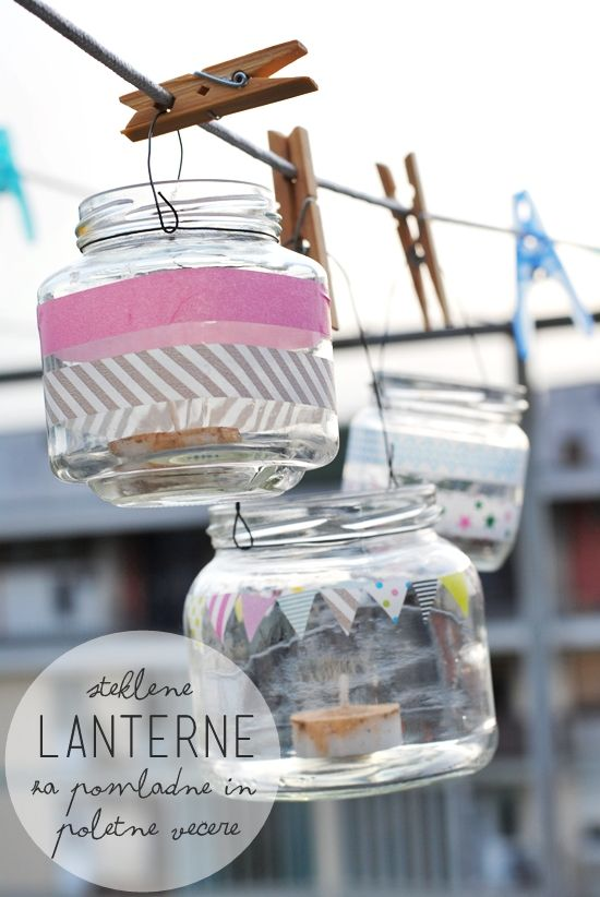 p e p e r m i n t: DIY / LAMPIJONČKIII za staviti na balkon na sušenje + aromatična ulja protiv komaraca i buba