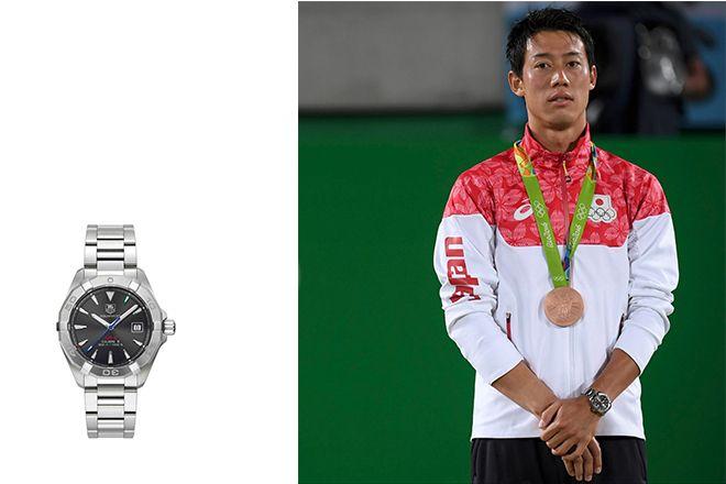 錦織圭ラファエルナダルアスリートが愛用する腕時計の秘密