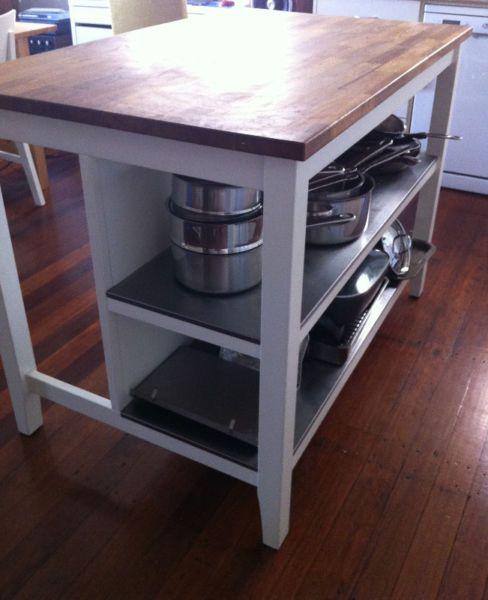 Kitchen Shelf Gumtree: IKEA Stenstorp Kitchen Island Bench