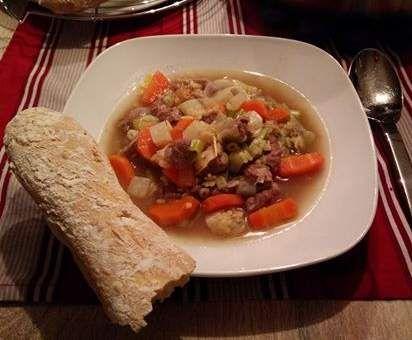 Rezept Omas Rindfleischsuppe von elAnimal - Rezept der Kategorie Suppen